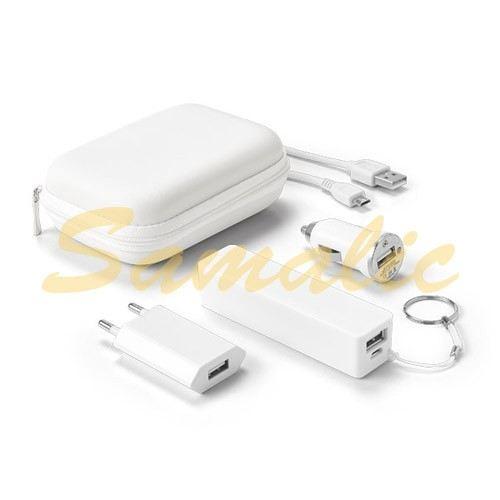 COMPRAR SET DE BATERÍA PORTÁTIL CON ADAPTADORES USB CHARGI REF 97326 STRICKER