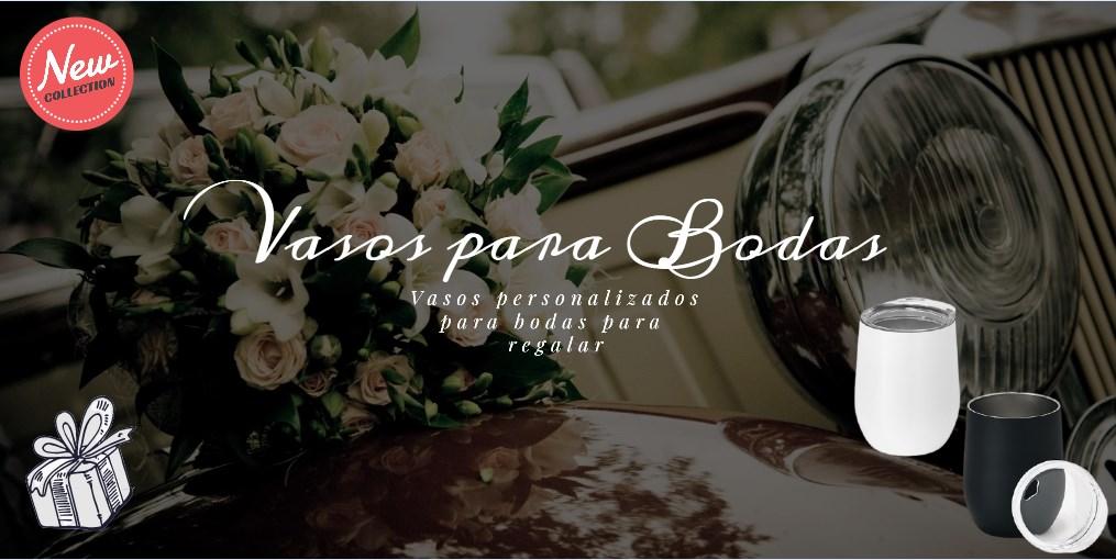 Vasos para bodas